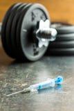 Dopage dans le sport photos libres de droits