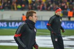 Dopasowanie między FC Shakhtar vs FC Bayern mistrz ligii Obraz Royalty Free