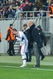 Dopasowanie między FC Shakhtar vs FC Bayern mistrz ligii Obrazy Stock