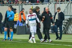 Dopasowanie między FC Shakhtar vs FC Bayern mistrz ligii Fotografia Royalty Free