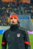 Dopasowanie między FC Shakhtar vs FC Bayern mistrz ligii Fotografia Stock