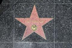 Dopasowywa Emerson gwiazdę na Hollywood Zdjęcie Stock