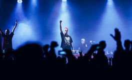 Dope D.O.D concert in Moscow Royalty Free Stock Image