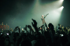 Dope D.O.D concert in Moscow Stock Photography