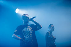 Dope D.O.D concert in Moscow Royalty Free Stock Photo