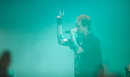 Dope D.O.D concert in Moscow Stock Images