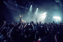Dope D.O.D concert in Moscow Stock Photos