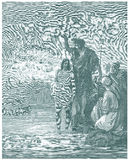 Dopet av Jesus Royaltyfria Foton