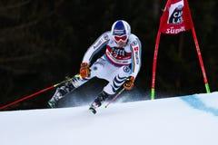 DOPFER Fritz in Audi Fis Alpine Skiing World-Kop Men's Reuzes Stock Afbeelding