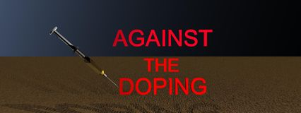 Doping Royalty Free Stock Image