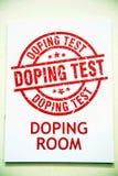 Doping del sitio fotografía de archivo libre de regalías
