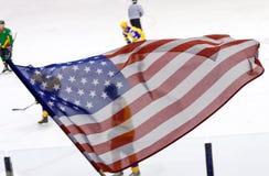 Doping dla drużyny hokejowej zdjęcia stock