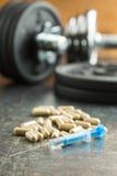 Doping en deporte fotografía de archivo libre de regalías