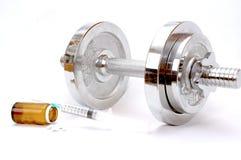 Doping en deportes imagen de archivo