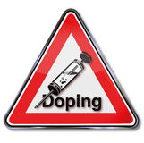 Doping and performance enhancement Stock Image