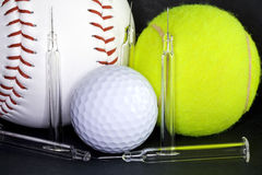 Doping in the sport. Make test to find doping in the sports Stock Images