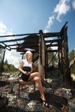 Dopo fuoco fotografia stock libera da diritti