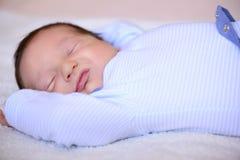 Dopo il neonato di parto Fotografia Stock Libera da Diritti