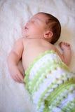 Dopo il neonato di parto Immagine Stock Libera da Diritti