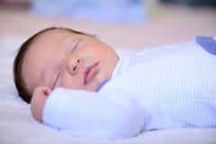 Dopo il neonato di parto Fotografie Stock