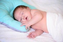 Dopo il neonato di parto Fotografia Stock