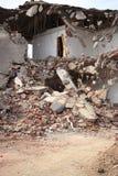 Dopo il terremoto immagini stock
