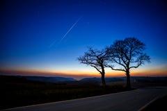 Dopo il tramonto Fotografie Stock Libere da Diritti
