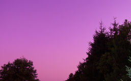 Dopo il tramonto Immagini Stock