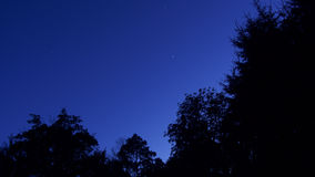 Dopo il tramonto Fotografie Stock