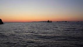 Dopo il tramonto video d archivio