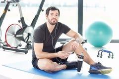 Dopo l'allenamento di forma fisica Immagine Stock
