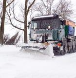 Dopo la bufera di neve Fotografie Stock