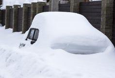 Dopo la bufera di neve Fotografie Stock Libere da Diritti