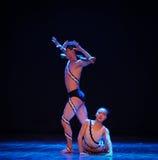 Dopo la passione-commissione nel ballo-coreografo labirinto-moderno Martha Graham Fotografie Stock