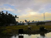 Dopo la pioggia Fotografia Stock