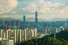 Città di Shenzhen Fotografia Stock Libera da Diritti
