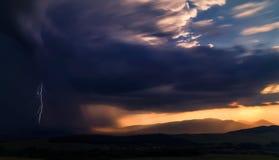 Dopo la tempesta… fotografia stock
