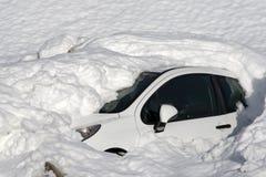 Dopo la tempesta della neve Fotografie Stock Libere da Diritti