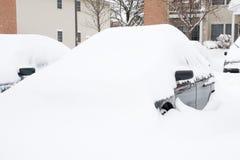 Dopo la tempesta della neve Immagini Stock Libere da Diritti