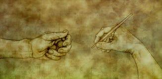Dopo Michelangelo - re David Immagine Stock Libera da Diritti