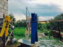 Dopo pioggia Fotografie Stock Libere da Diritti