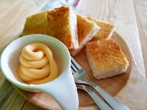 Doppa för ost Arkivfoton