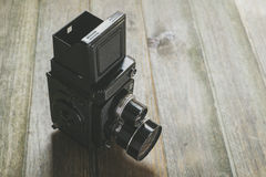 Doppel-Objektiv Reflexkamera Stockfotografie