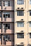 Doppel-Tone Building in Hong Kong lizenzfreies stockfoto