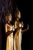Doppelbuddha Stockbild
