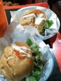 Doppelburger Stockfoto