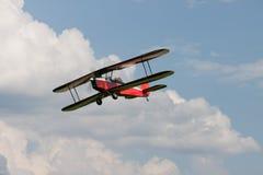 Doppeldecker - vorbildliches Biplane - Flugzeuge Lizenzfreie Stockbilder