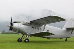 Doppeldecker - vorbildliches Biplane - Flugzeuge Lizenzfreie Stockfotografie