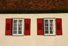 Doppelfenster Stockfotos