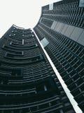 Doppelgebäude Stockfoto